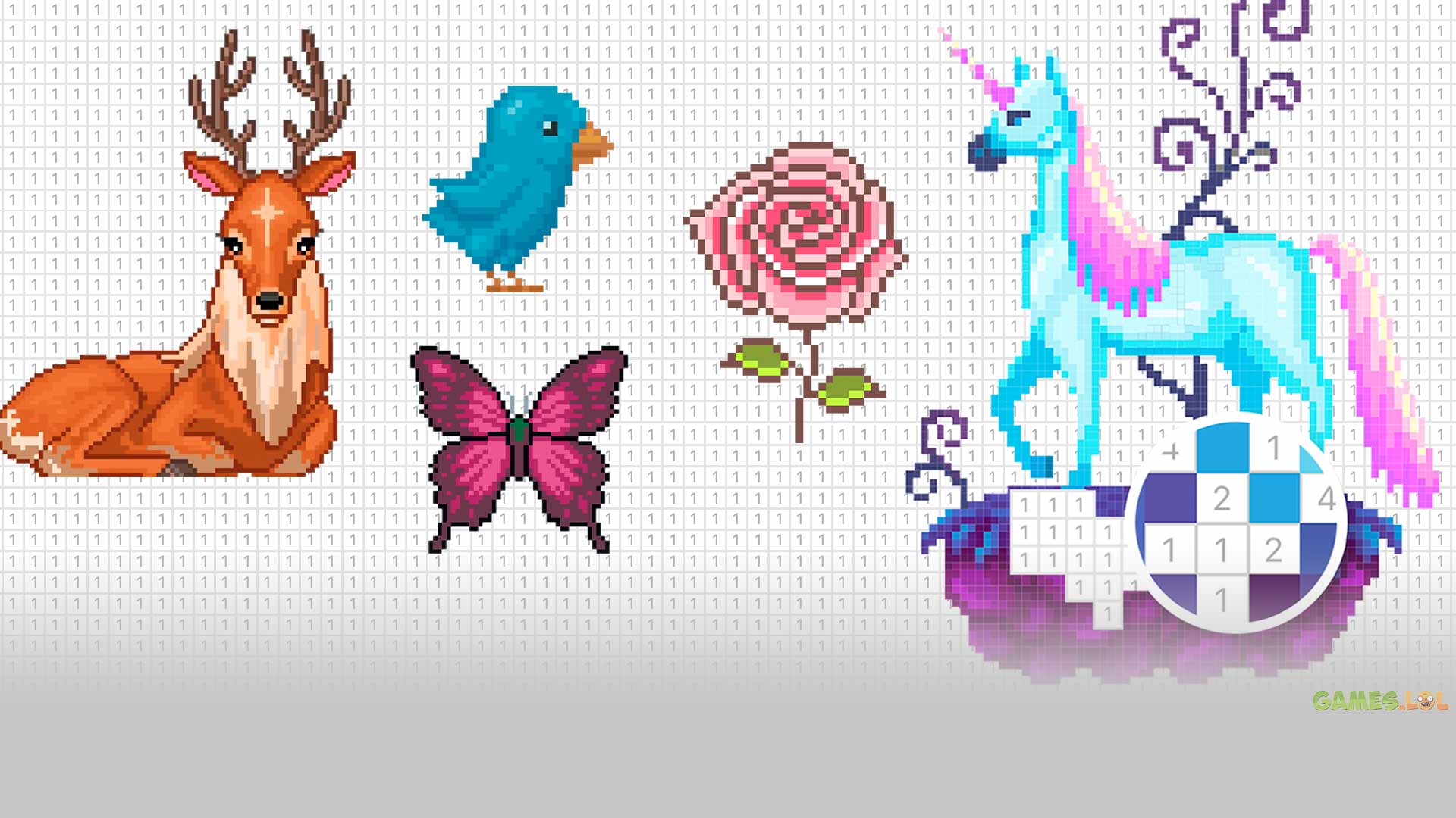 Pixel Art: Color by Number Free PC Download