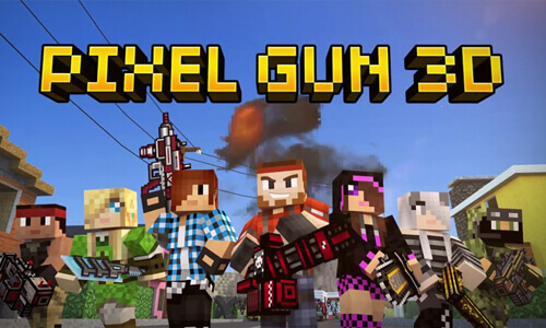 Play Pixel Gun 3D Pocket Edition on PC