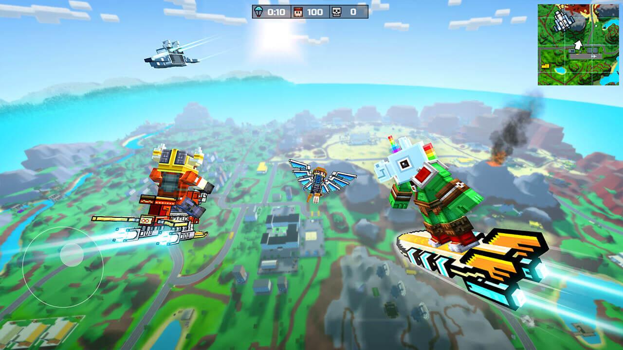 Pixel Gun 3D Pocket Edition Fly