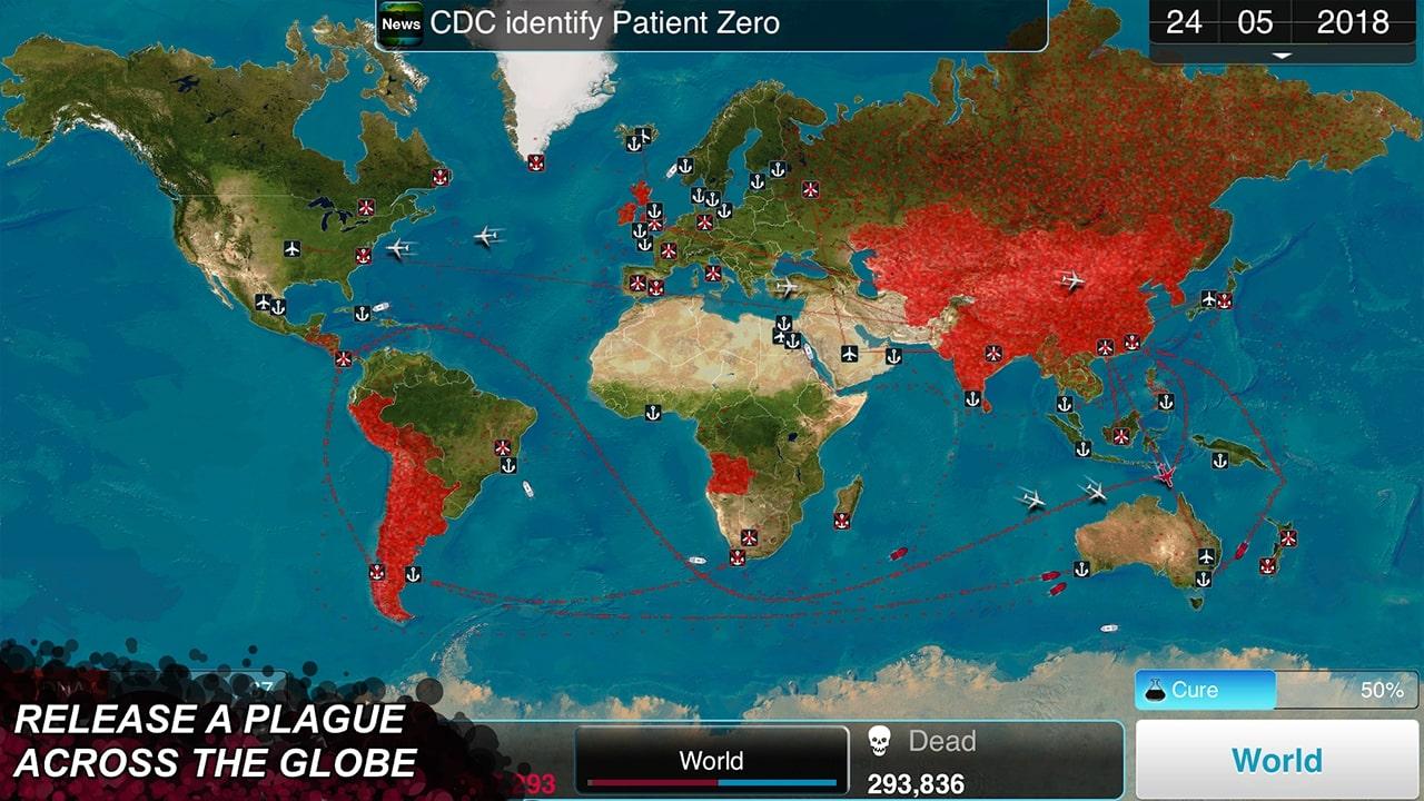 Plague Inc Across The Globe