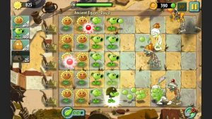 plants vs zombies 2 special attack