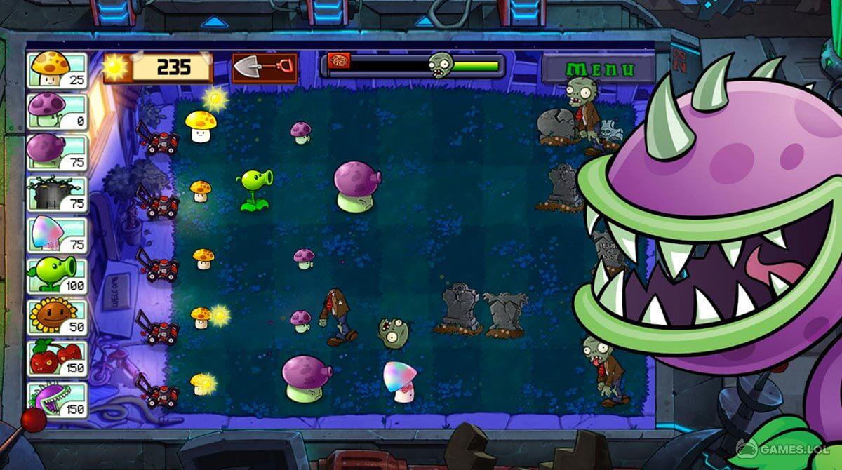 plants vs zombies download PC free