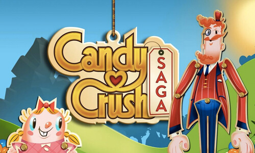candy crush saga mr toffee and milly posing