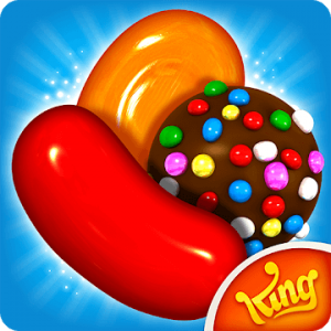 candy crush saga red jelly bean and bonbons