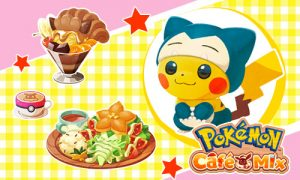 pokemon cafe mix pikachu cuisines