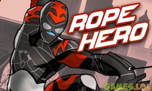 Play Rope Hero on PC