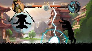 shadow fight2 fight scene