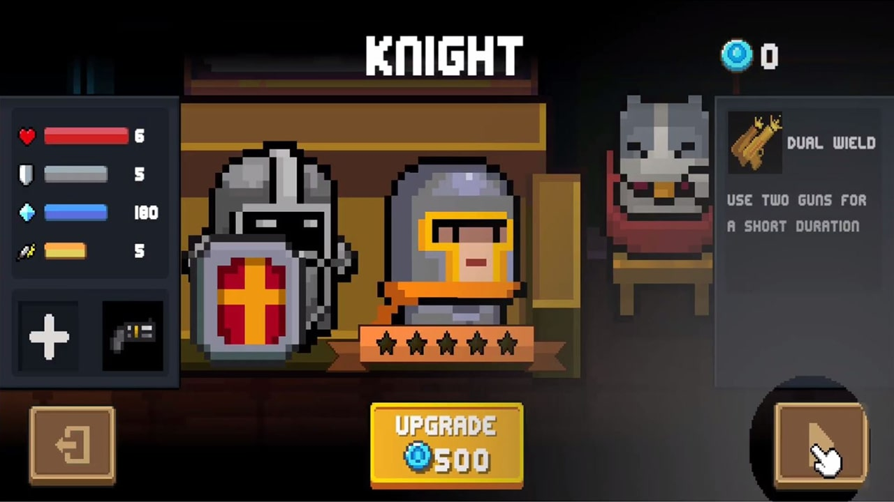 Soul Knight Upgrade Dual Wield