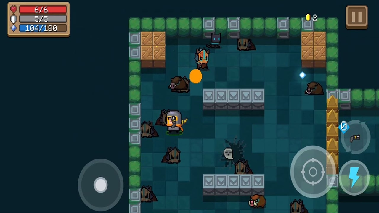 Soul Knight Upgrade Gameplay Screenshot