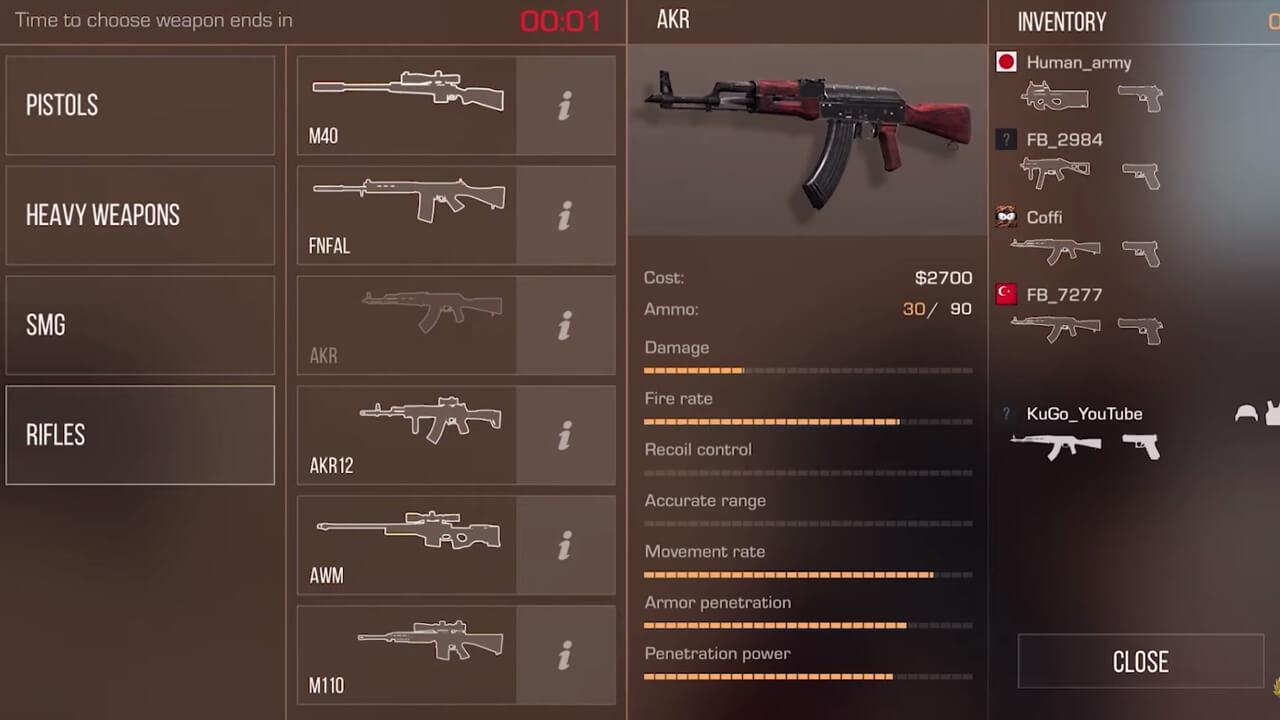 Standoff Two Rifles Option