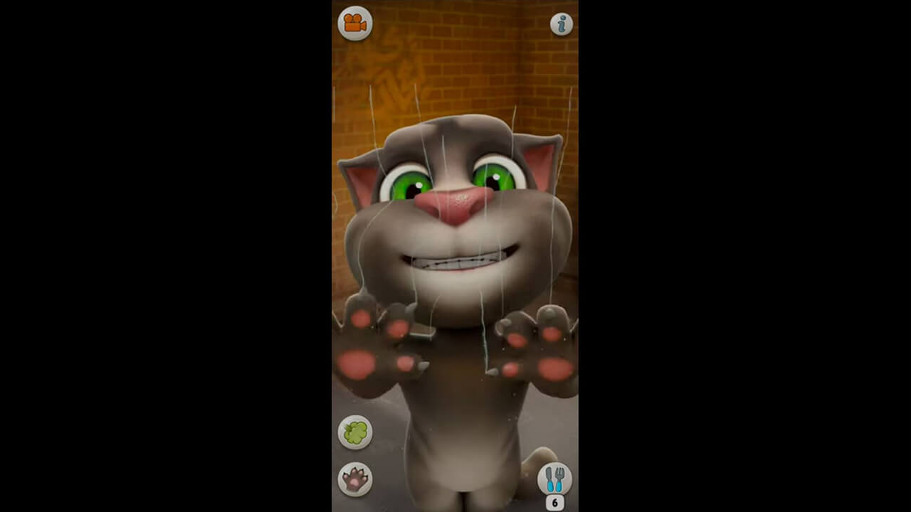 Talking Tom Cat Scratch