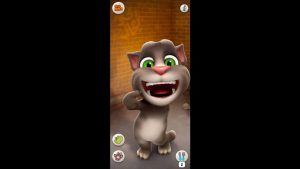 talking tom cat teeth mouth
