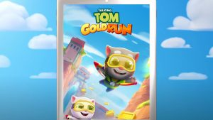 talking tom gold run flying
