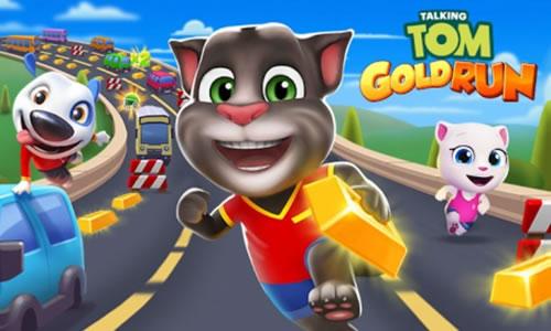 Play Talking Tom Gold Run on PC