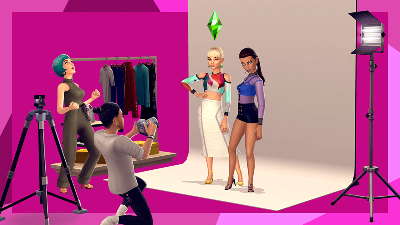the sims mobile modeling