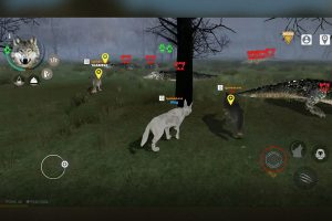 the wolf online exploring forest