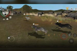 the wolf online running with pack