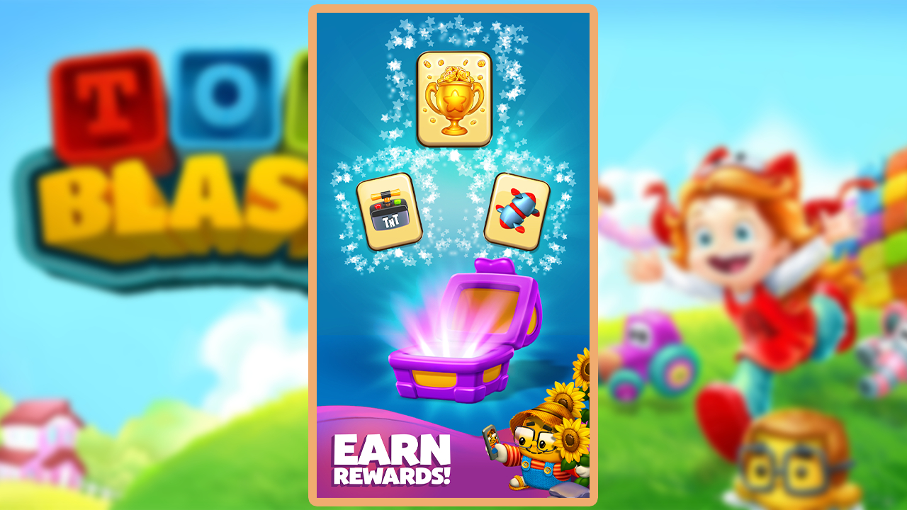 Toy Blast Earn Rewards free