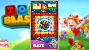 toy blast rubix cube