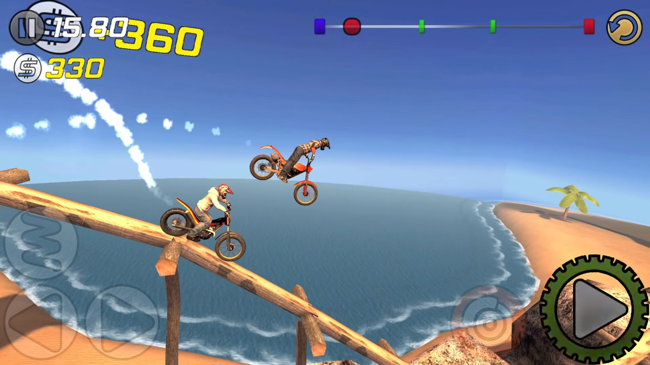 Trial Xtreme 3 Awesome Jump