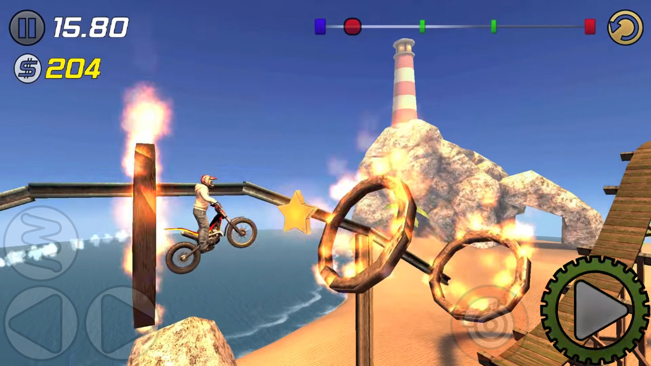 Trial Xtreme 3 Flaming Rings Challenge