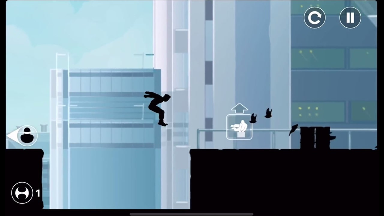 Vector Building Jump Gameplay
