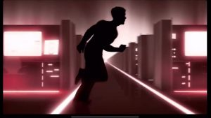 Vector Run Silhoutte