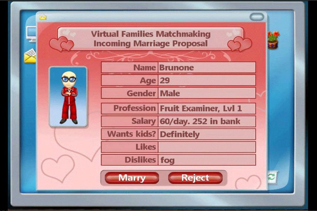 Virtual Families Proposal