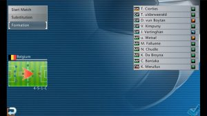 World Soccer League Formation
