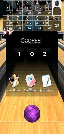 3d Bowling Total Score