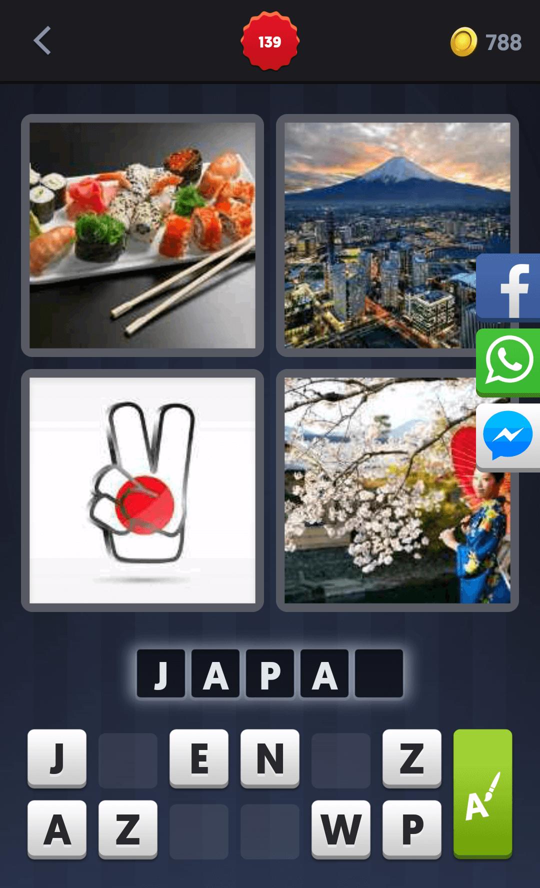 4 Pics 1 Word Japan