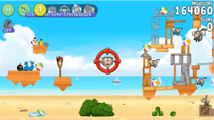 Angry Birds Rio Aim Fire