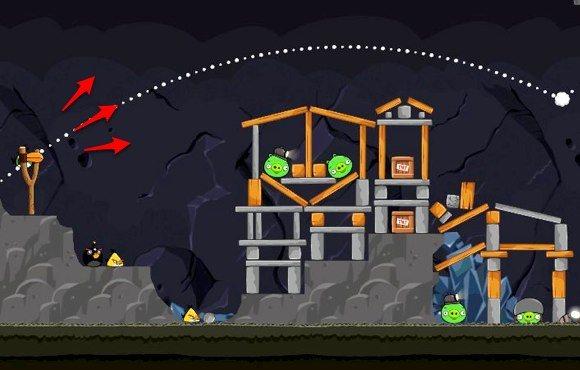 Angry Birds Aimed Shot
