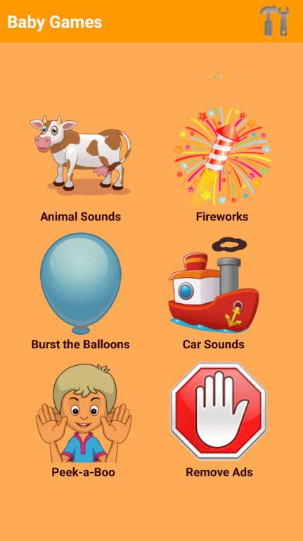 Baby Games Categories