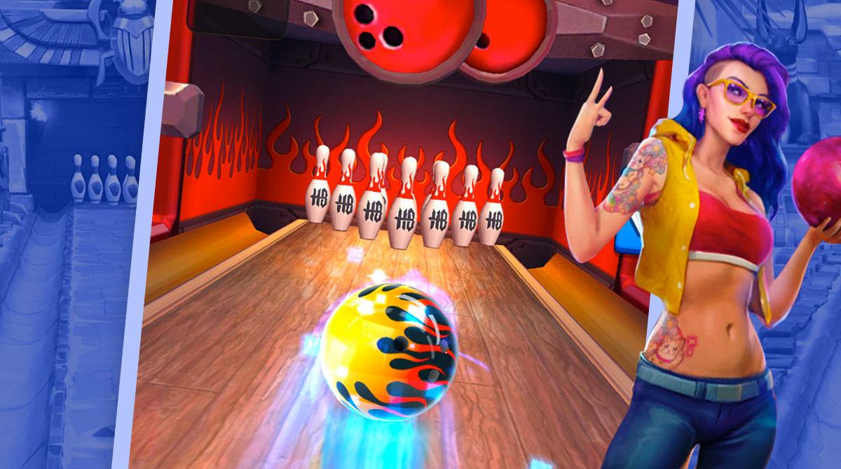 Bowling Crew Flaming Ball