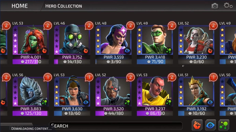 DC Legends Characters