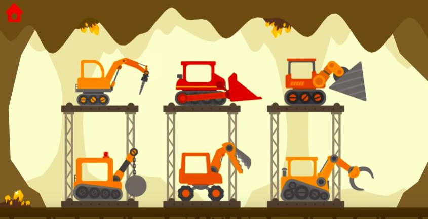 dinosaur digger 3 best pic crane