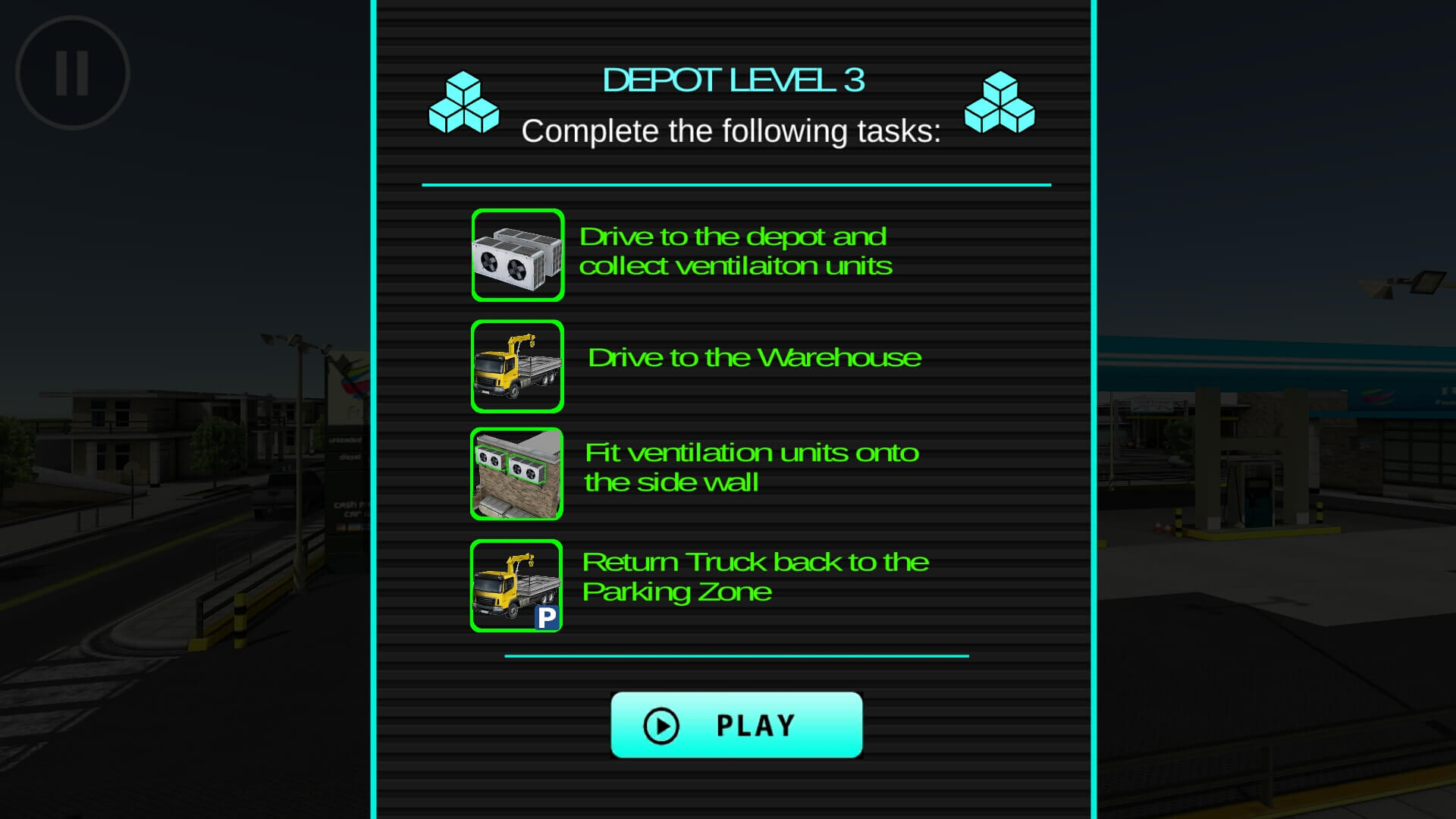 Drive Simulator depot drive