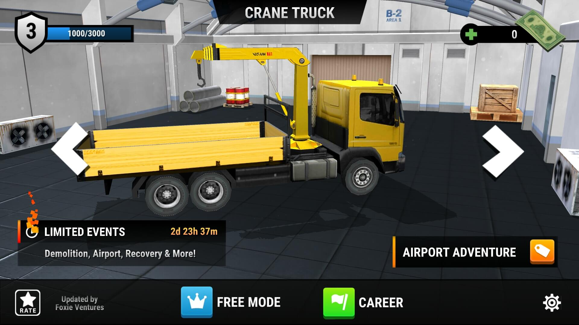 Drive Simulator yellow wrecker