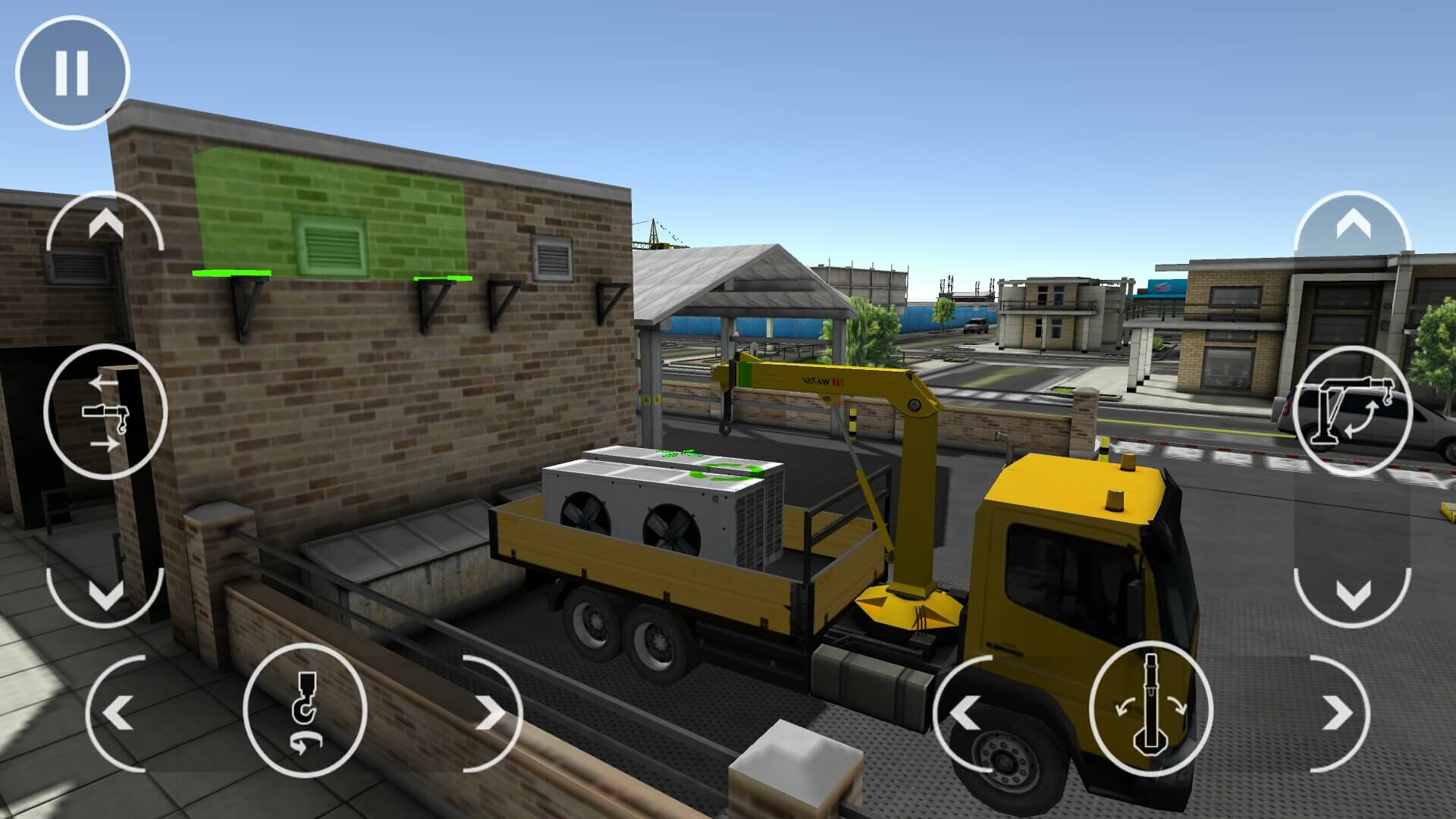 Drive Simulator truck delivery