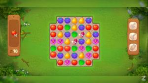 Gardensccapes gameplay