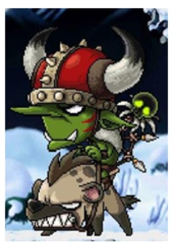 Hoblin Monster Rex