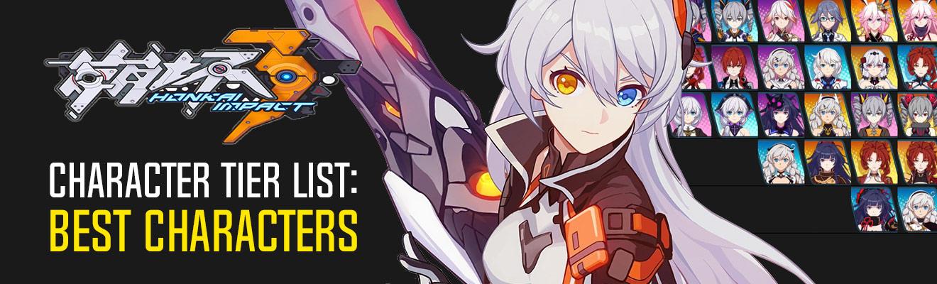 Honkai Impact Best Character Selection