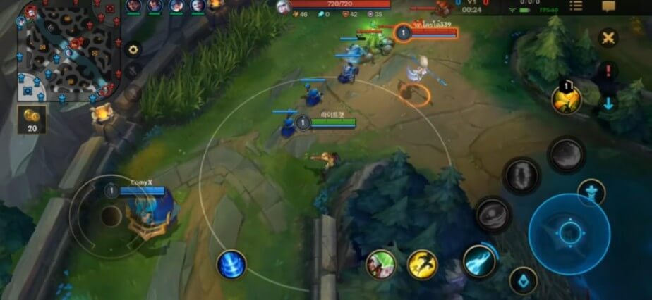 League of Legends Wild Rift early game