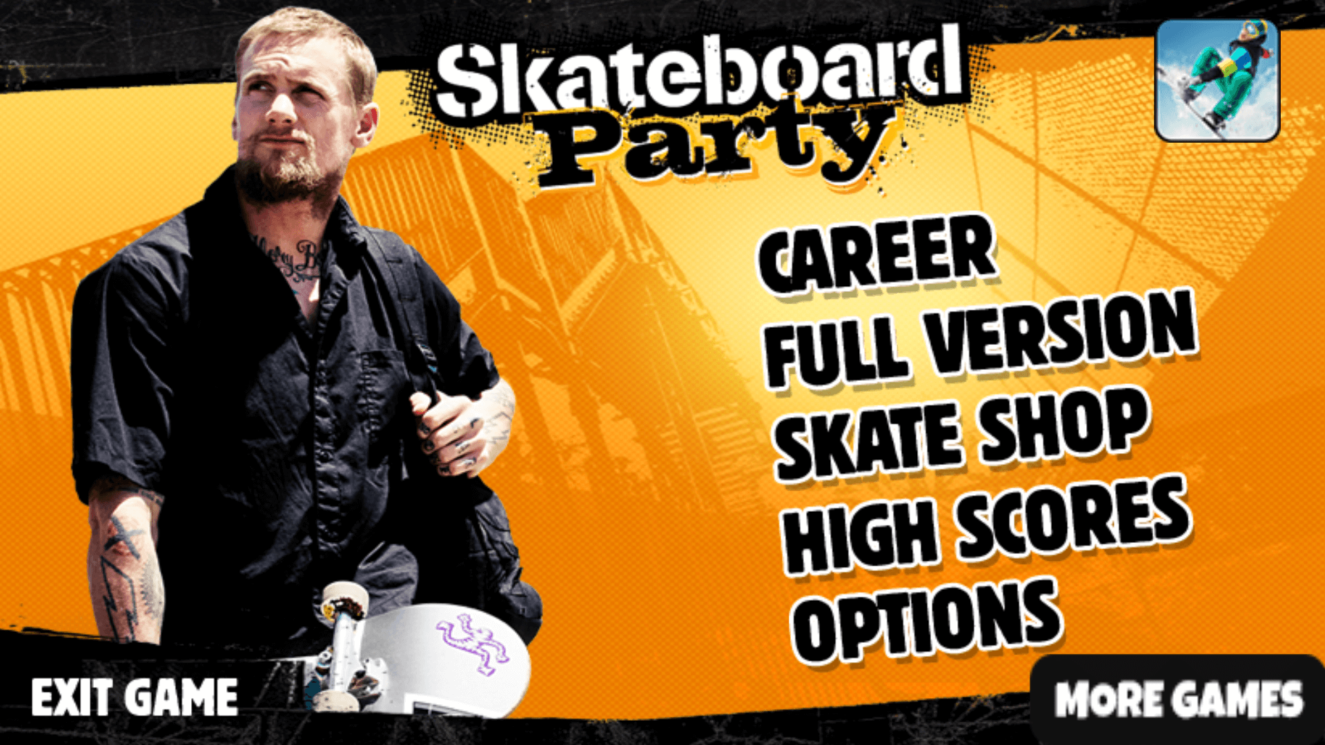 Mike V Skateboard Game Features