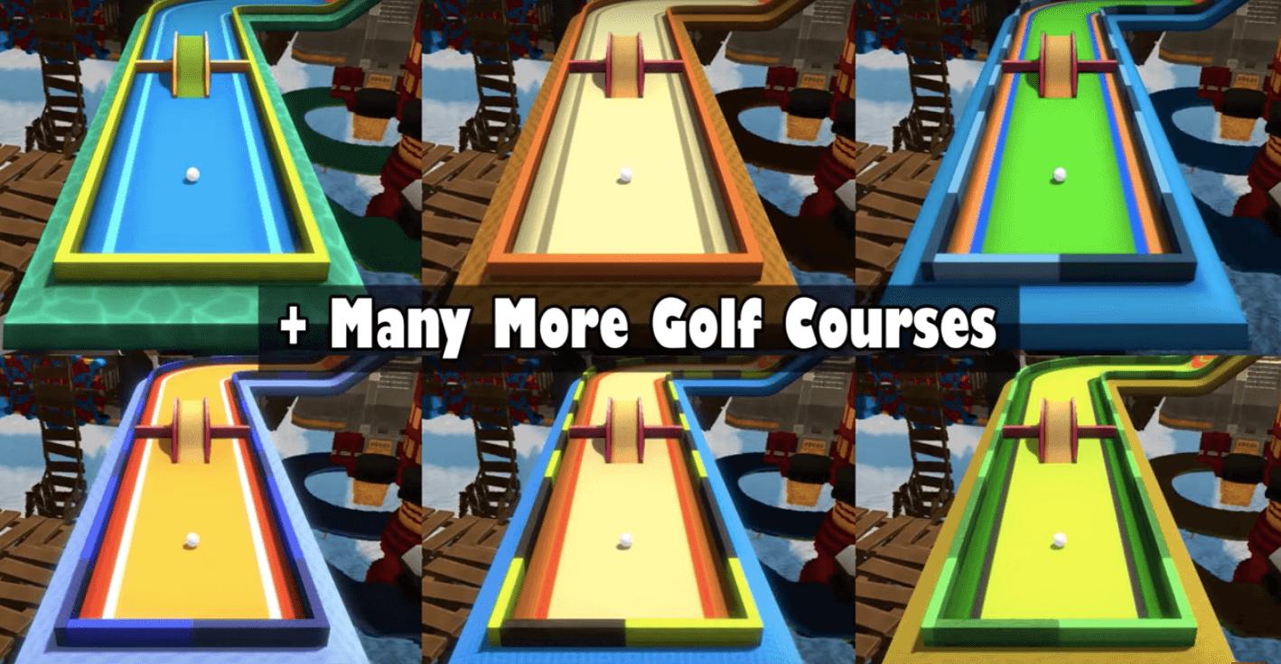 Mini Golf 3D City More Golf Courses