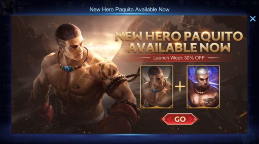 Mobile Legends Bang Bang Paquito