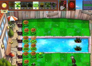 Plants vs Zombies gameplay