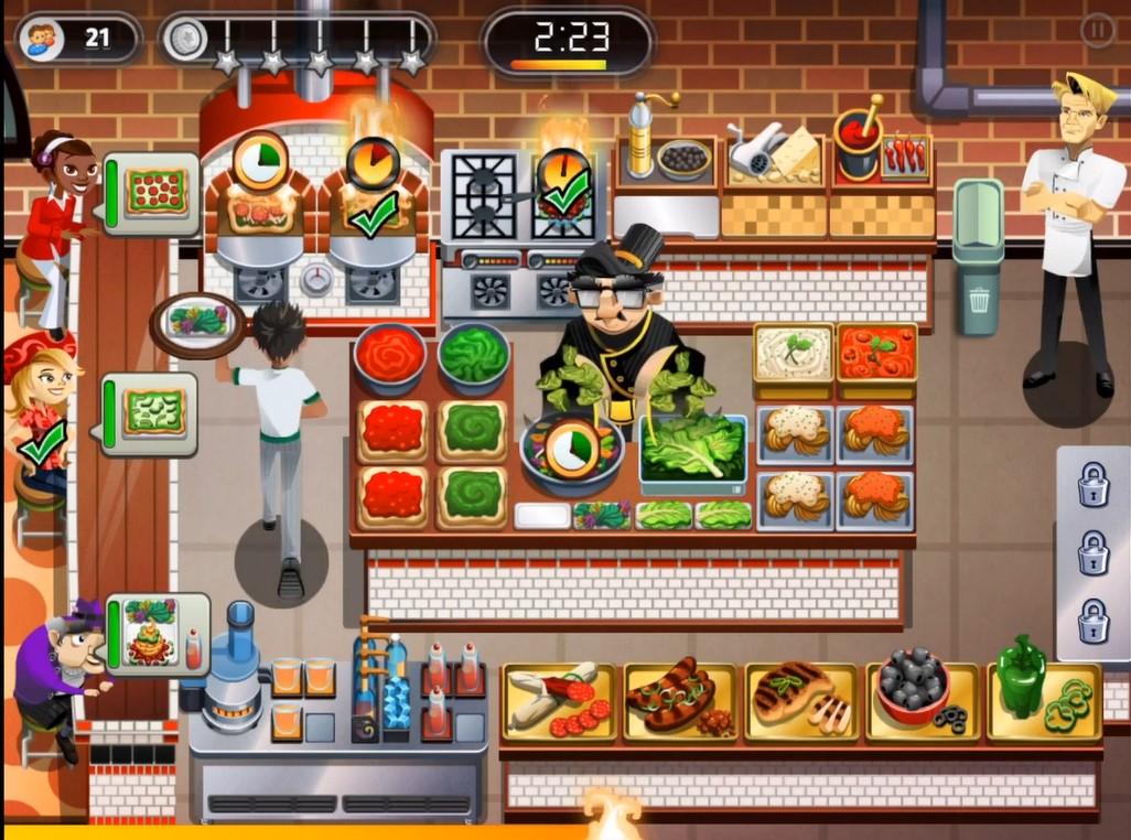 Restaurant Dash Serve All Customer