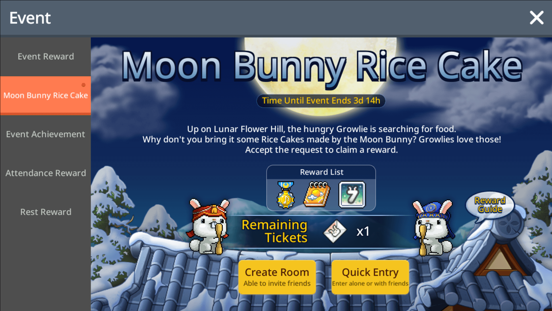 Download MapleStory M on PC - Moon Bunny Rice Cake
